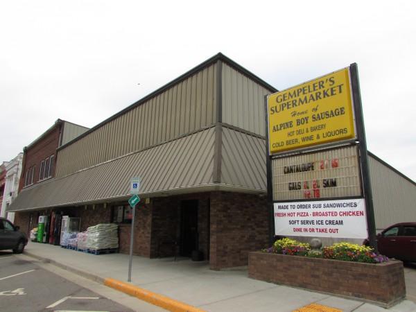 Gempeler's Supermarket in Monticello