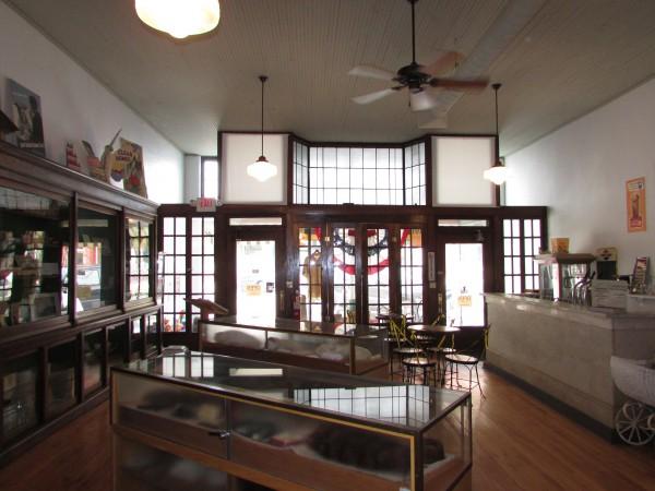 Monticello Museum inside