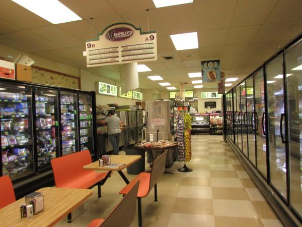 Gempeler's Supermarket inside