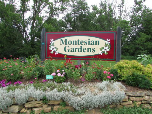 Montesian Gardens Sign Monticello