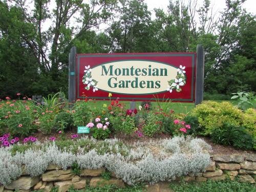 Montesian Gardens Sign Monticello