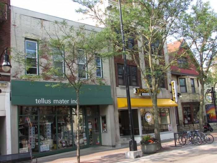 Tellus Mater Inc., Which Wich? and Sacred Feather stores State Street
