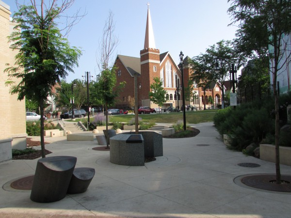 Elizabeth Link Peace Park on State Street
