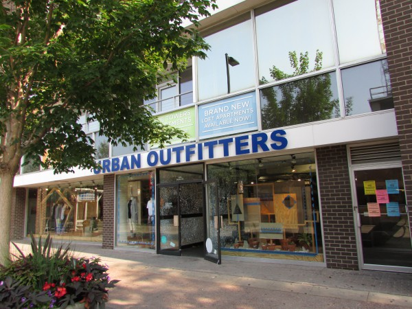 Urban Outfitters on State Street in Madison