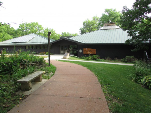 E.B. Lyons Interpretive Center in Dubuque