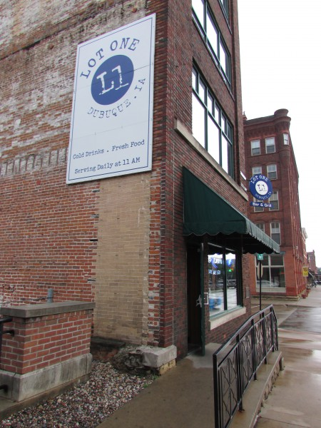 Lot One restaurant in Dubuque