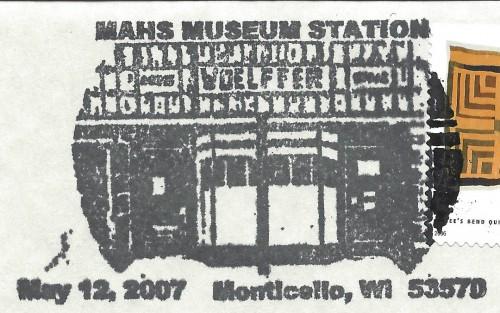 Monticello Museum postmark