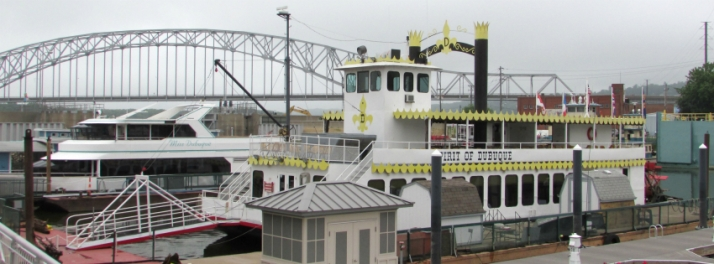 Spirit of Dubuque riverboat