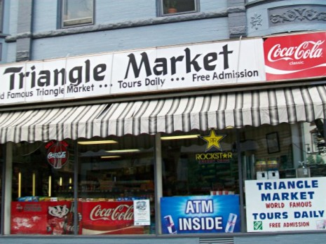 Triangle market Free Tour