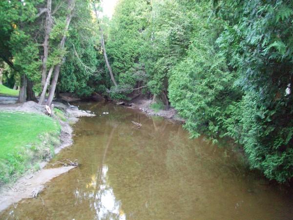 Silver Creek in Manitowoc