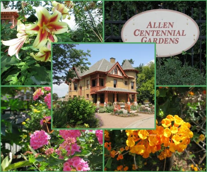 Allen Centennial Gardens Collage