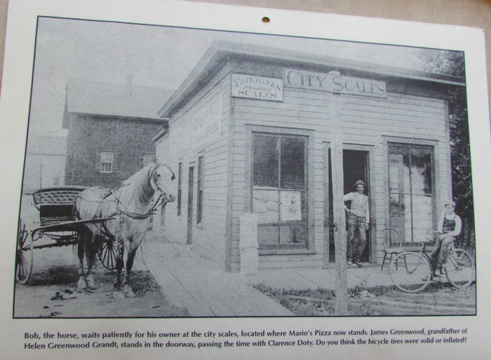 City Scales in Edgerton in the 1800's