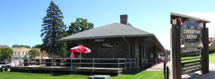 Edgerton Depot - Railway Express Cafe