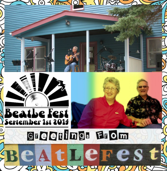 Greetings from Beatle Fest in Spring Green