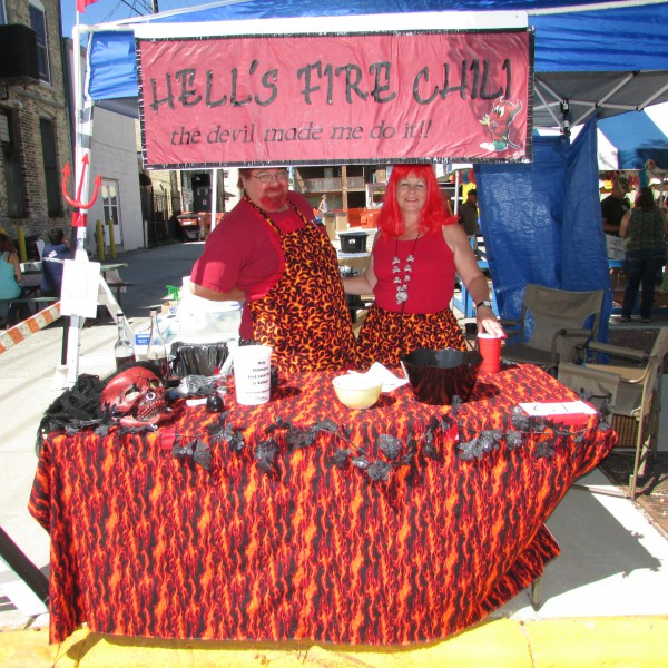 Hell's Fire Chili at Edgerton Chilimania