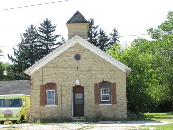Historic one-room schoolhouse in Manitowoc