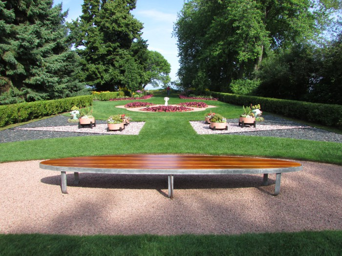 Formal Garden at West of the Lake in Manitowoc