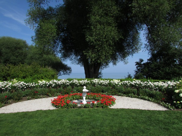West of the Lake Garden in Manitowoc