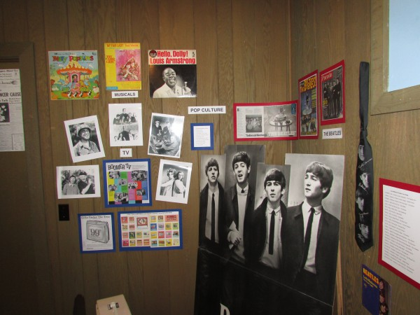 Sizties display at McFarland Museum