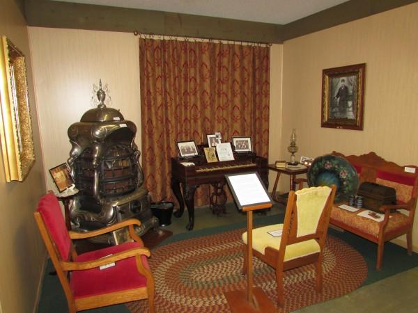 Parlor in Mcfarland museum