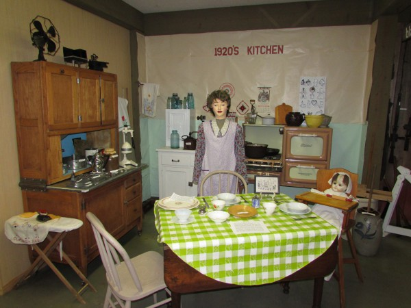 McFarland museum 1920's kitchen