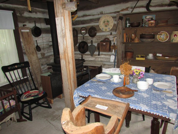 Skare Cabin inside McFarland Museum