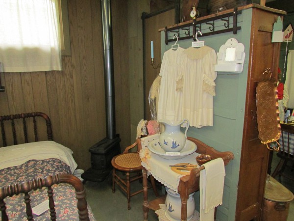 Bedroom at McFarland Museum