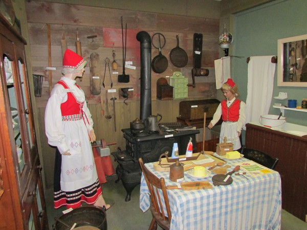 Norwegian kitchen a McFarland Museum
