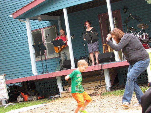 Carissa Dixon and Ned Hodgeson at Beatle Fest in Spring Green