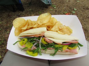 Italian  Sandwich at Spring Green General Store