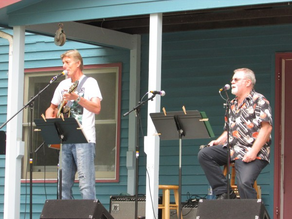 Mark Hubanks and Ken Kvammen at Beatle Fest in Spring Green