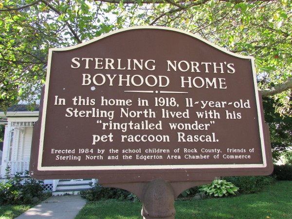 Sterling North home marker
