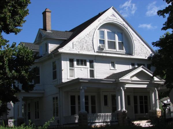 Andrew McIntosh house in Edgerton