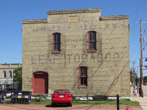 Leaf Tobacco Building in Edgerton