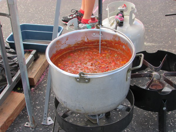 Pot of Chili at Chilimania