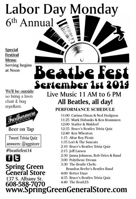 Beatle Fest 2014 poster