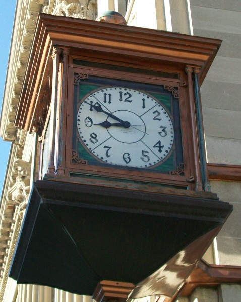 Manitowoc Bank Clock