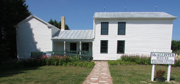 Pinecrest Historical Village Welcome Center in Manitowoc
