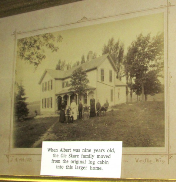 Skare new house 1887 photo McFarland