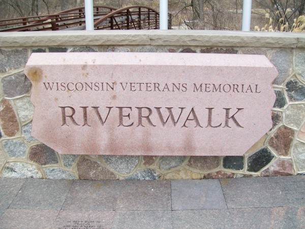 Veterans Memorial Riverwalk headstone