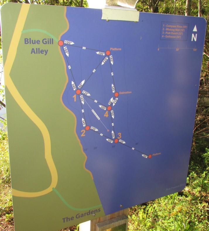 Bluegill Alley Map