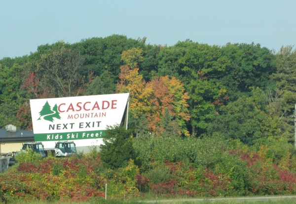 Cascade Mountain in Portage