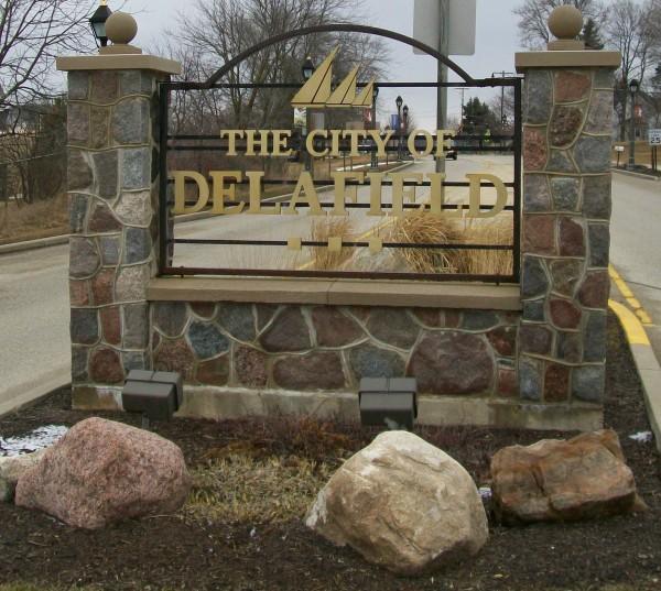 Delafield sign