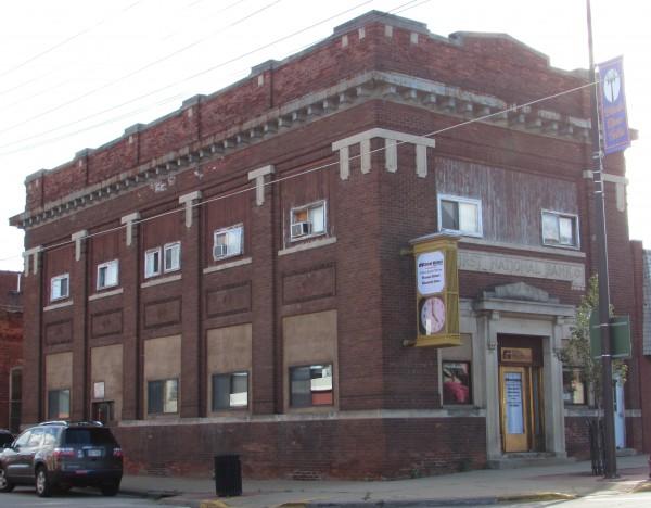 Former First National Bank in Black River Falls