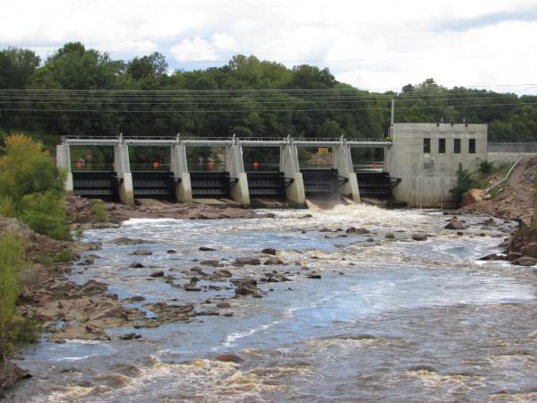 Back River Falls Dam