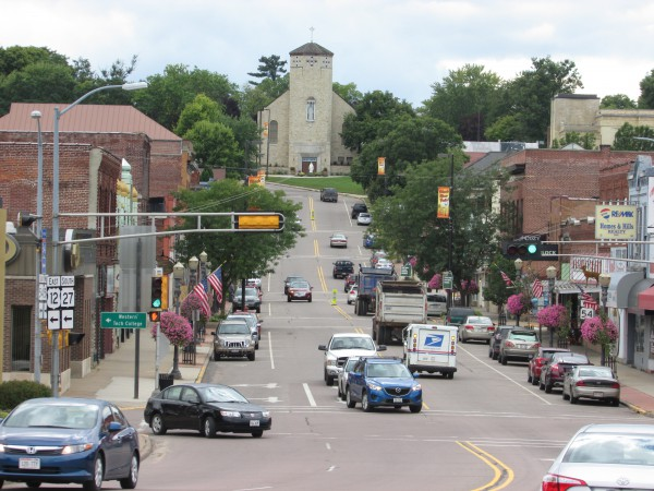 Black River Falls downtown