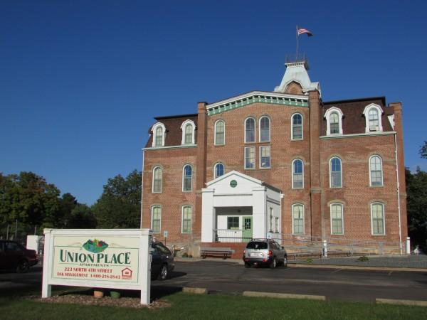 Former Union High School in Black River Falls