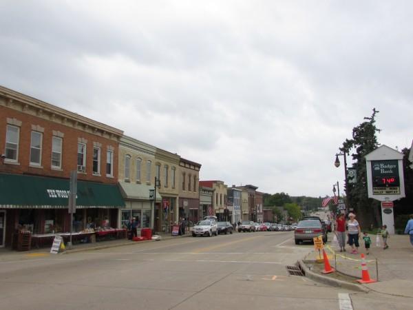 Cambridge downtown
