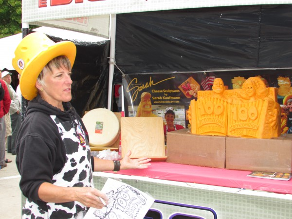 Sara Kaufmann at Cheese Days