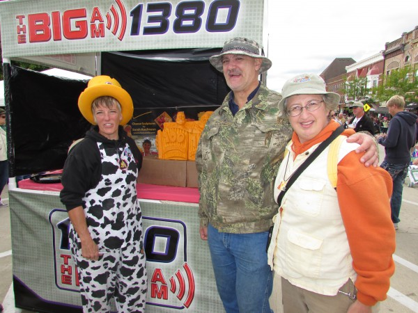 Sarah Kaufmann and us at Cheese Days